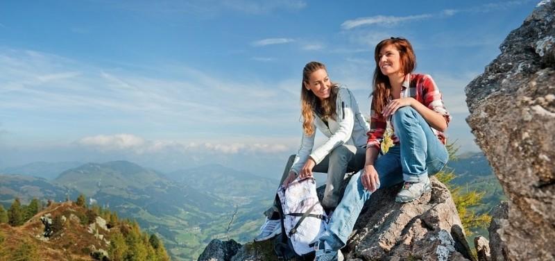 haus katharina westendorf bergwandern freizeit appartement herbst wandern berggehen