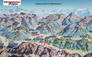 Ferienwohnung Austria Appartement Westendorf Erholung Katharina Tourismus Tirol Sommer Card
